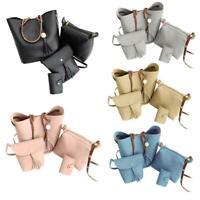 4pcs Women Handbag Shoulder Bag Tote Purse Clutch Messenger Crossbody Satchel