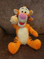 "Disney Tigger With Winnie The Pooh Hand Puppet Soft Toy Plush 12"" With Tags"