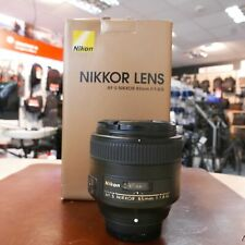 Used Nikon 85mm f1.8 G AF-S lens - 1 YEAR GTEE