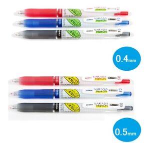 Zebra Sarasa Mark On Ballpoint Pen 0.4mm 0.5mm Gel BALLPOINT pen 3Color Select