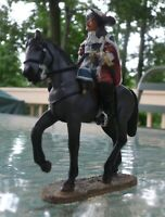 Del Prado French Captain Of Musketeers c. 1670 - hand painted metal soldier