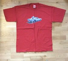 TOXICO London vintage Dodge Charger muscle car T-shirt, red, size L, VGC