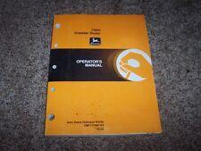 John Deere 700H Crawler Dozer Owner Operator Maintenance Manual Omt177893