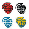 """2.5"""" Thunder Skateboard Trucks Grenade Stickers Decals 4 Color Choices"""