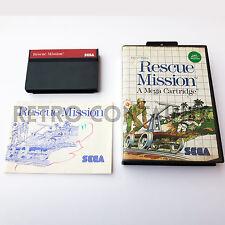 Vintage Game SEGA MASTER SYSTEM II - Rescue Mission (Retrogaming Videogame)