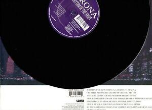 "CORONA - THE RYTHM OF THE NIGHT 12"" VINYL YZ837T WEA RECORDS YZ837T 1994"