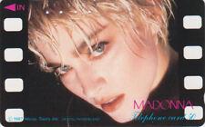 Télécarte JAPON - MADONNA - MUSIQUE POP ROCK - MUSIC & MOVIE JAPAN phonecard