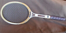 Tennis Racquet Wilson Jimmy Conners wooden Capri Pre-owned 4 3/8 Vintage 1980