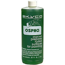 SKYCO OSPHO METAL Rust Remover Surface Prep TREATMENT QUART +++ FREE SHIPPING!