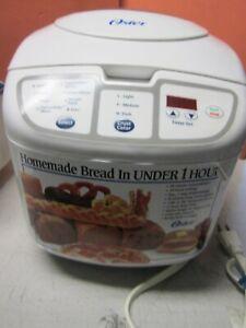 Oster HomeMade Bread Maker for 1 lb loft, 120V, 560W, Model: 5838