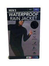 32 Degrees Cool Men's Performance Waterproof Rain Jacket  Size: Large