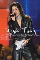 "SHANIA TWAIN ""UP  CLOSE AND PERSONAL"" DVD NEU"
