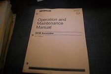 CAT Caterpillar 385 L Excavator Operation/Maintenance Manual operator trackhoe