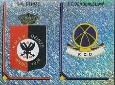 371 LOGO ECUSSON BELGIQUE SK.DEINZE FC.DENDERLEEUW STICKER FOOTBALL 2000 PANINI