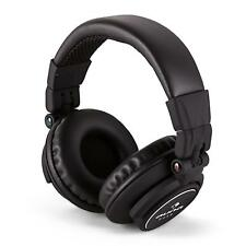 Casque Audio pliable Auna arceau inox reglable Ecouteur DJ Studio Mp3 iPod Noir
