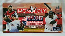 Beadshine Boston Red Sox 2007 World Series Champions Monopoly Family Board Game