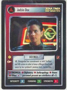 Star Trek CCG Jadzia Dax Blaze of Glory BOG UR Foil
