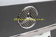 For 14+ Mercedes CLA 45 AMG 250 200 C117 Carbon Fiber Trunk Star Emblem Decal