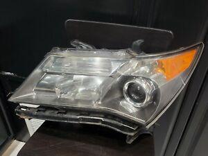07 08 09 ACURA MDX DRIVER LEFT SIDE HEADLIGHT XENON HID HEAD LIGHT LAMP PLEA