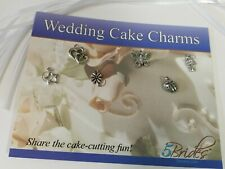 Wedding Cake Charms set of 6