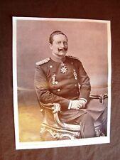 Imperatore Guglielmo II di Prussia e Germania di Berlino + Dott.Pioda e Comtesse