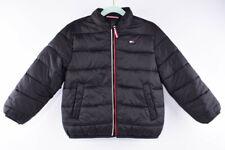 TOMMY HILFIGER Boys' Kids' Primaloft Padded Jacket, Black, size 6-7 years