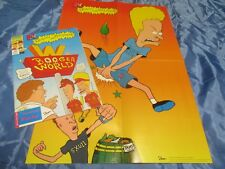 Beavis und Butt - Head , Marvel Comics 1994 / Nr. 3 , Kult TV - Comic ,+ Poster