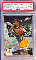 Ja Morant 2019 Panini The National College Rookie Cracked Ice Patch /25 BGS 9