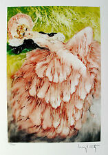 """LOUIS ICART """"DREAMING"""" Signed Limited Edition Small Giclee Art"""