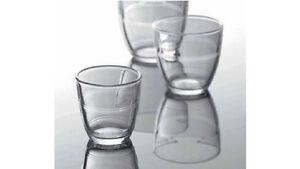 6x Duralex Gigogne Gläser Glas Trinkglas temperiert 22 cl Frankreich