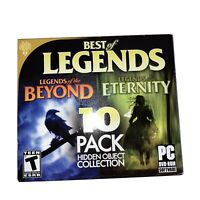 Best of Legends, 10 Pack Hidden Object Collection (PC) NEW SEALED 3B