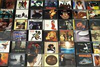 R&B & Rap/Hip-Hop CD LOT You Choose 5 for $20