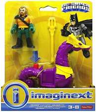New IMAGINEXT DC Super Friends Avengers Aquaman & Seahorse Trident USA Seller