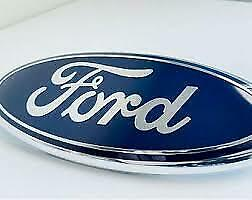 ONE Front Grille Tailgate Oval Emblem Blue Decals  04-14 Ford F150 F250 F350