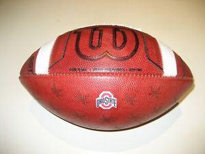 2020 Ohio State Buckeyes GAME BALL Wilson PRIME Football University OSU