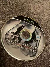 XBOX Medal of Honor European Assault Disque Seulement