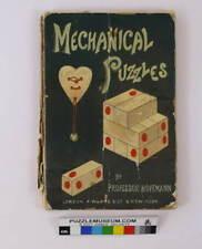 Mechanical Puzzles by Professor Hoffmann