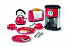 Casdon Morphy Richards Toy Play with Kettle Cutlery Coffe Maker, Kitchen Set, Ne