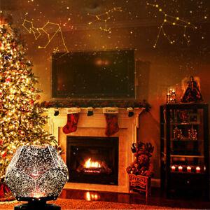 LED Galaxy Starry Night Light Projector Ocean Sky Star Party Speaker Dance Lamp^