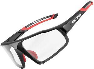 ROCKBROS Cycling Polarized Sunglasses Bike Running Split UV400 Goggles Unisex