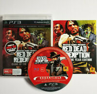 Mint Disc Playstation 3 Ps3 Red Dead Redemption Game of the Year Edition