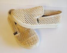Bos.  Womens woven Slip On Shoes 44 Light tan $149 Amazing EUC