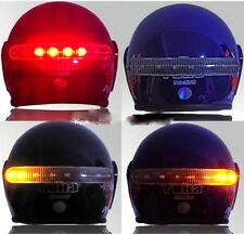 Frecce e stop a LED wireless per casco led brake and turn light helmet capacete