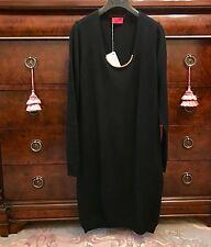 NWT | Lanvin Black Cashmere Dress| Size L| RRP$1890