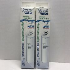 Brand New TWO Refrigerator Water Filters (Bosch CunoOCS 640565 CS-52 SGF-B052)