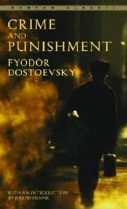 Crime and Punishment (Bantam Classics) - Mass Market Paperback - GOOD