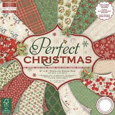 Premium Cardstock First Edition 6x6 DESIGNER Paper Pad - Christmas