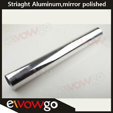 "3"" 76mm Straight Aluminum Turbo Intercooler Pipe Piping  Tube Tubing L=610mm AU"