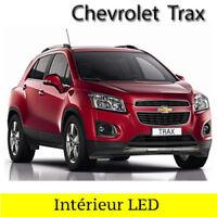 Kit éclairage  ampoules à  LED smd Blanc intérieur pour Chevrolet Trax