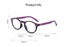 Anti-blue light reading glasses women anti-fatigue HD Purple Glasses +1.0 to 4.0